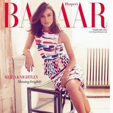 Keira Knightley : Son look Chanel pour la Une d'Harper's Bazaar (Photos)