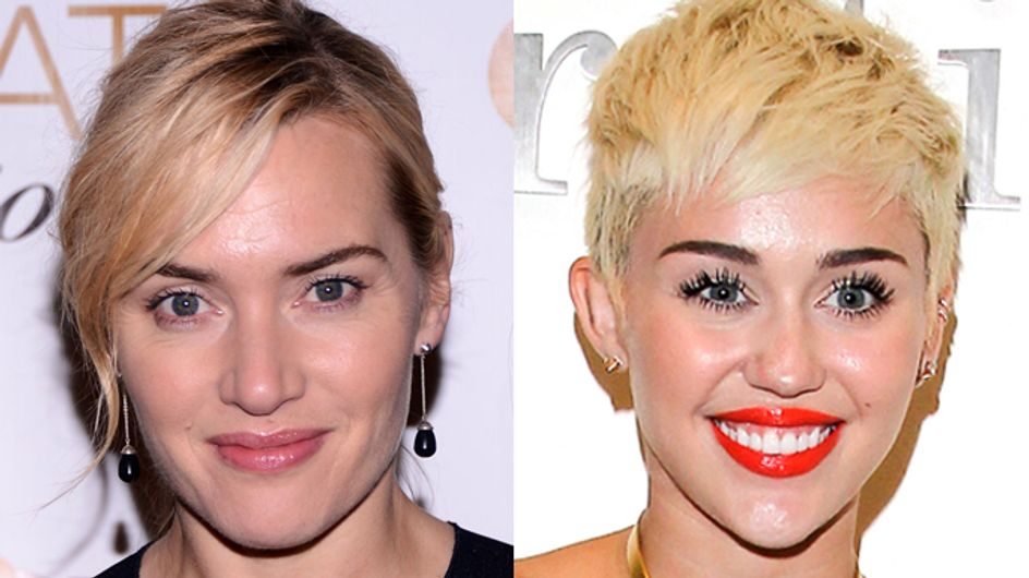 Kate Winslet is worried about Miley Cyrus's welfare