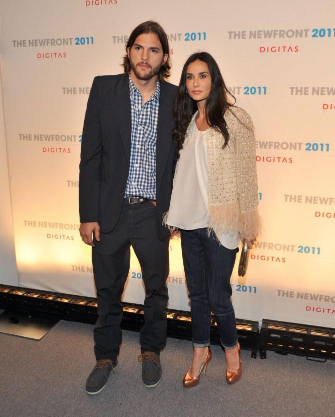 Demi Moore et Ashton Kutcher