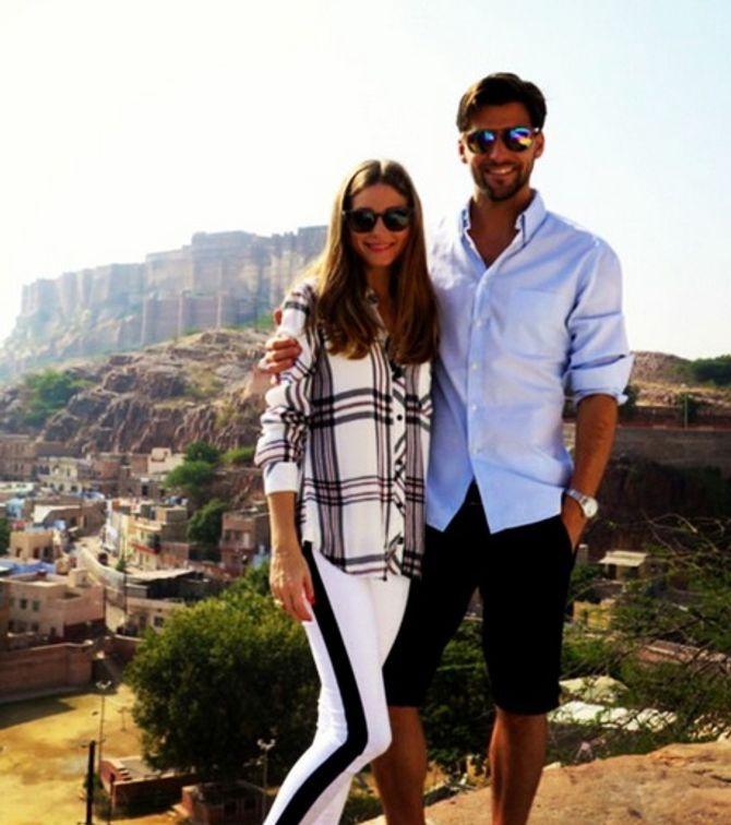 Olivia Palermo et Johannes Huebl sont fiancés