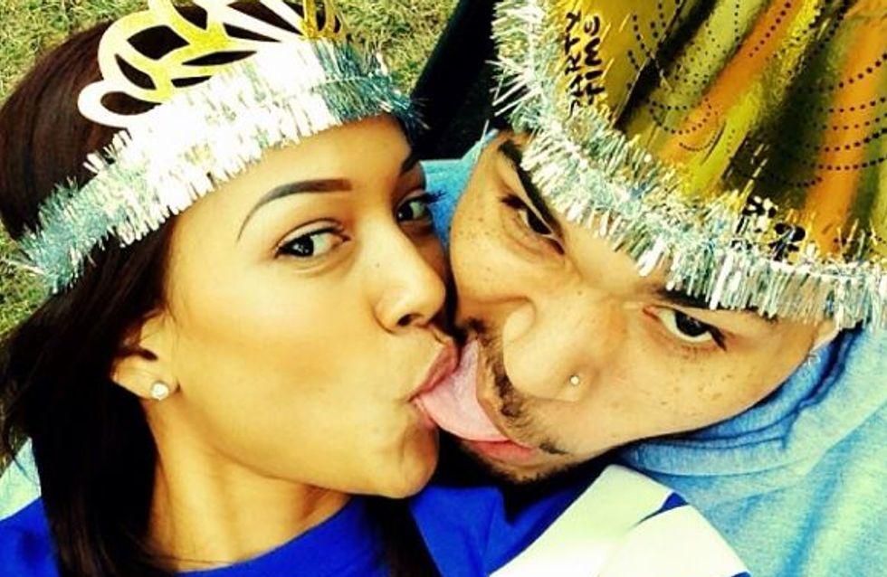 Chris Brown : Il ne veut plus lâcher Karrueche Tran (photos)