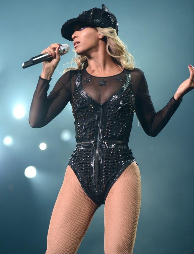 Beyoncé wieder schlank