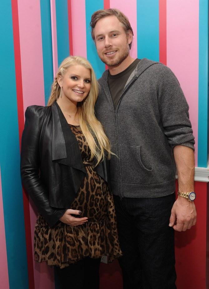 Jessica Simpson et son compagnon Eric Johnson
