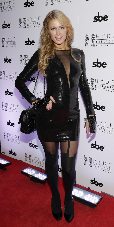 Paris Hilton le 31 décembre à Las Vegas