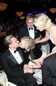 Leonardo DiCaprio et Kate Winslet aux Golden Globes 2012