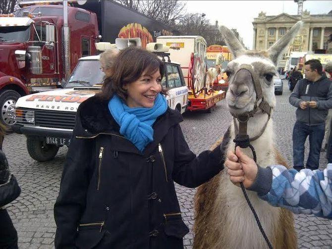 Anne Hidalgo et Serge le Lama