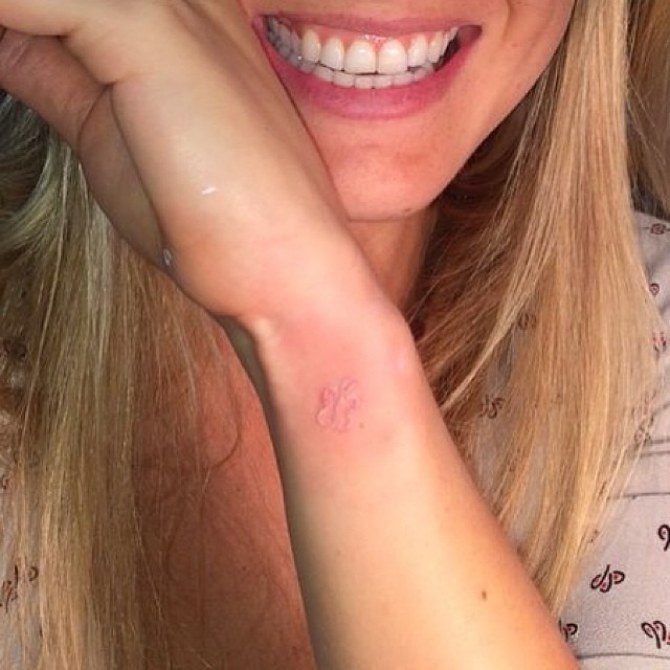 Le tatouage de Bar Refaeli