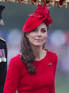 Kate Middleton avec sa robe Elsa