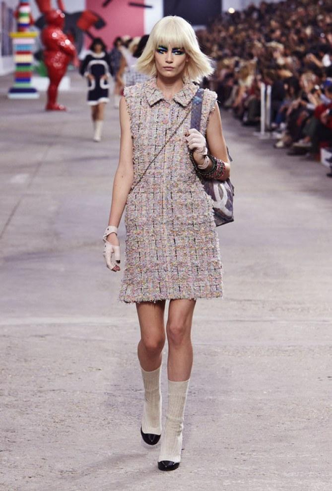 Le défilé Chanel, collection printemps-été 2014