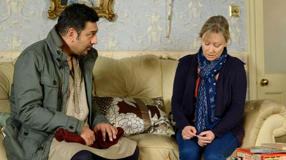 Eastenders 14/01 – Masood's mother's memorial takes place