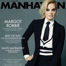Margot Robbie : Garçonne en couverture de Manhattan (Photos)
