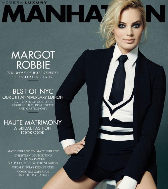 Margot Robbie pour Manhattan