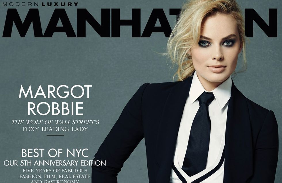 Margot Robbie : Garçonne en couverture de Manhattan (Photos)