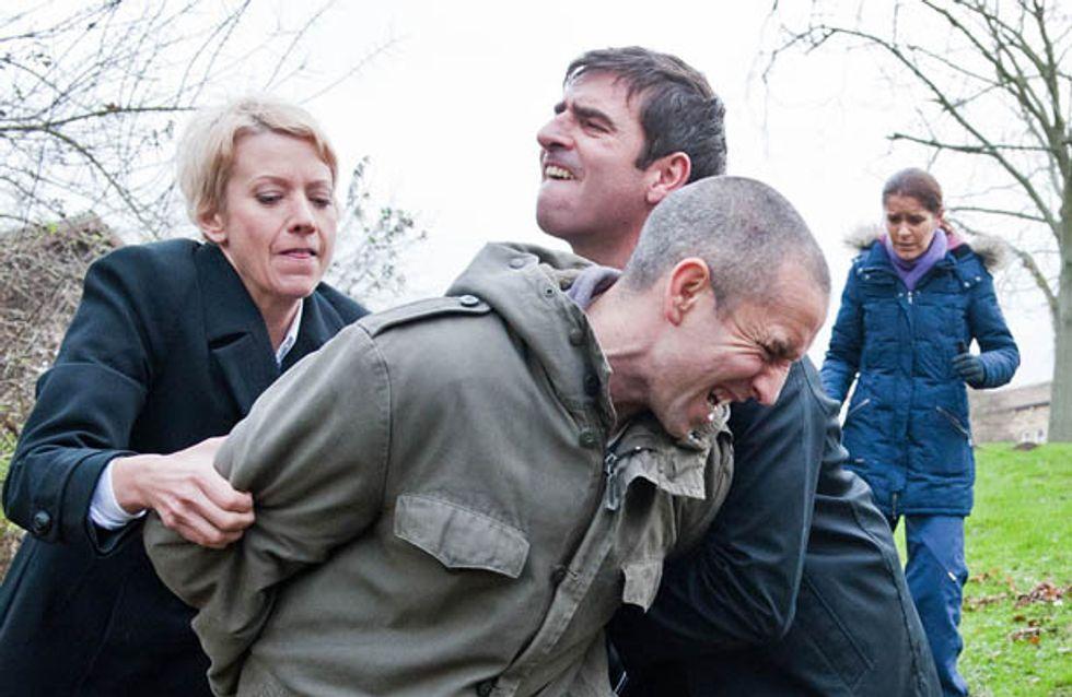 Emmerdale 13/01 –Sam is arrested