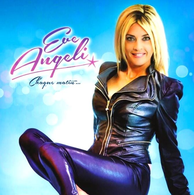 La pochette de l'album d'Eve Angeli