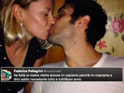 Federica Pellegrini e Filippo Magnini
