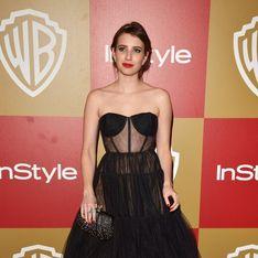 Emma Roberts : Fiancée à Evan Peters