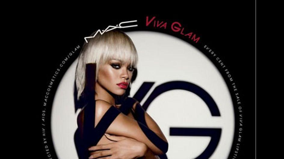 """Rihanna et M.A.C : Blonde sulfureuse pour """"Viva Glam"""" (Photo)"""