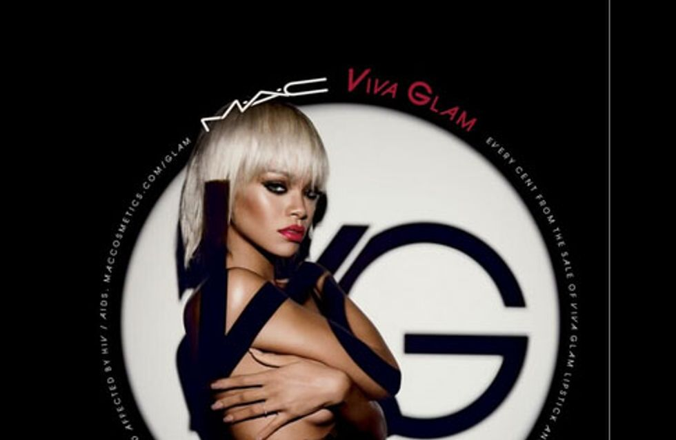 Rihanna et M.A.C : Blonde sulfureuse pour Viva Glam (Photo)