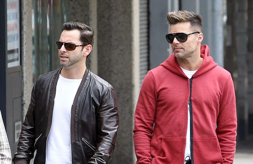 Ricky Martin lascia il fidanzato