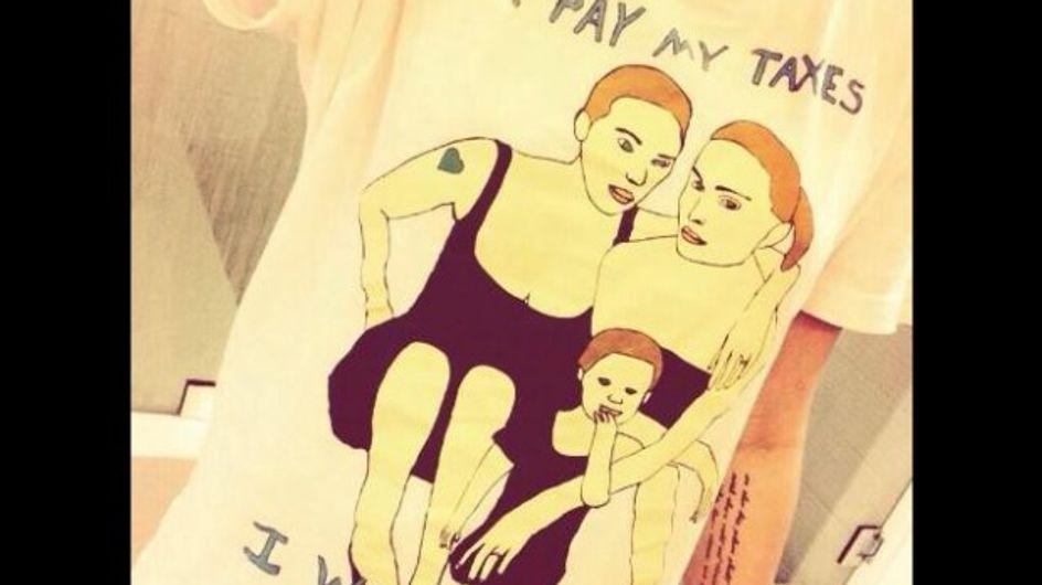 Miley Cyrus est pour le mariage gay (photo)