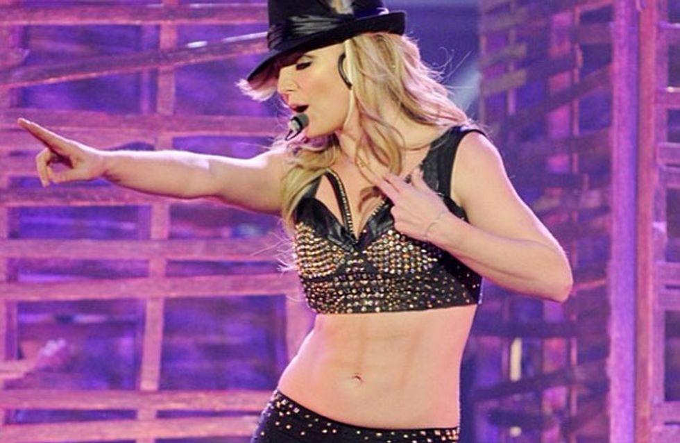 Britney Spears wehrt sich: Mein Sixpack ist nicht aufgemalt!