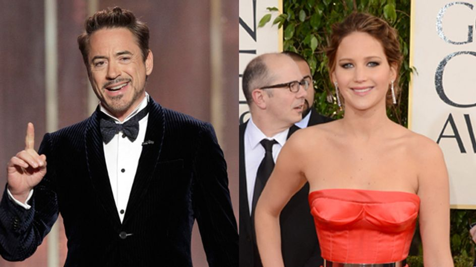 Jennifer Lawrence and Robert Downey Jr. are among presenters at Golden Globes 2014
