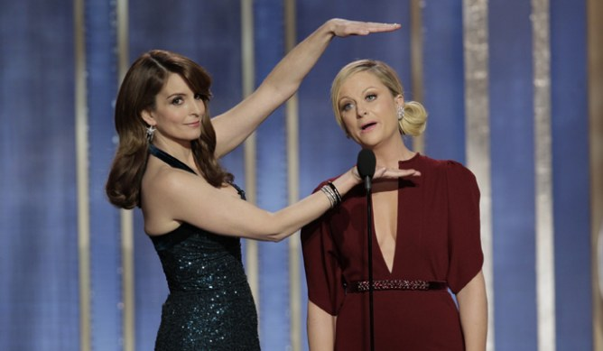 Tina Fey and Amy Poehler hosting 2013 Golden Globes
