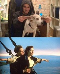 Chris et Wrigley rejouent Titanic