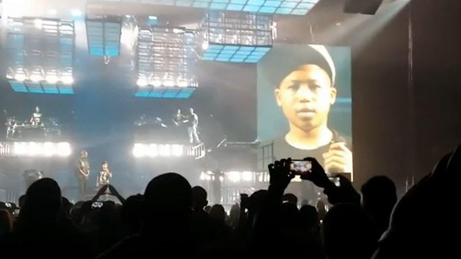 Jay-Z : Il réalise le rêve d'un enfant en le faisant monter sur scène pendant son concert (Vidéo)