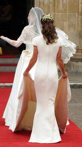 Pippa Middleton au mariage de Kate