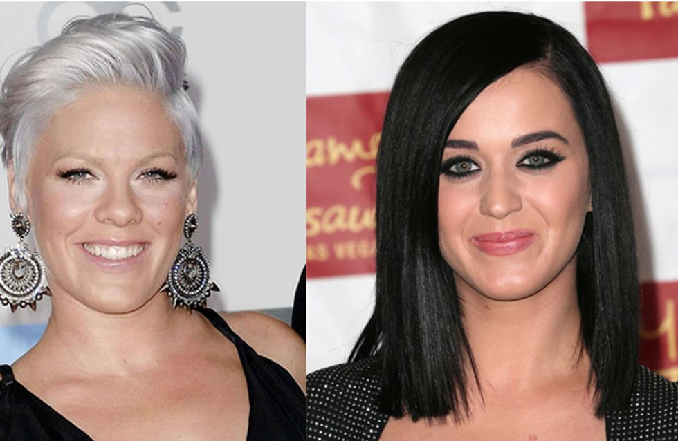 Katy Perry and Pink kick off this year's Grammy performance lineup