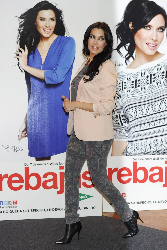 Pilar Rubio embarazada de 5 meses
