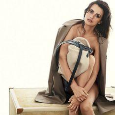 Penélope Cruz : A moitié nue pour la nouvelle campagne Loewe (photos)