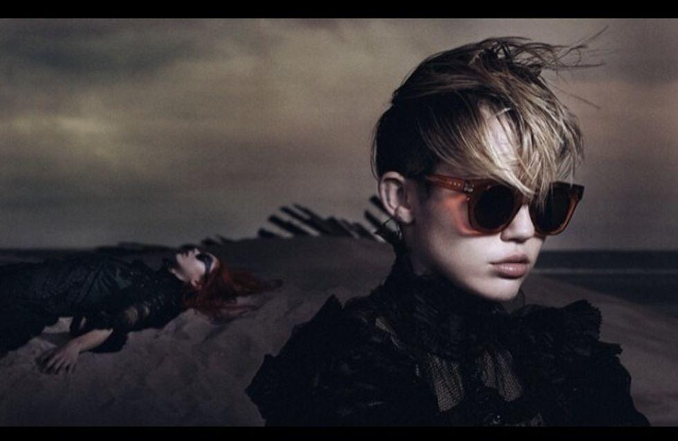 Miley Cyrus : Egérie boudeuse pour Marc Jacobs (photos)