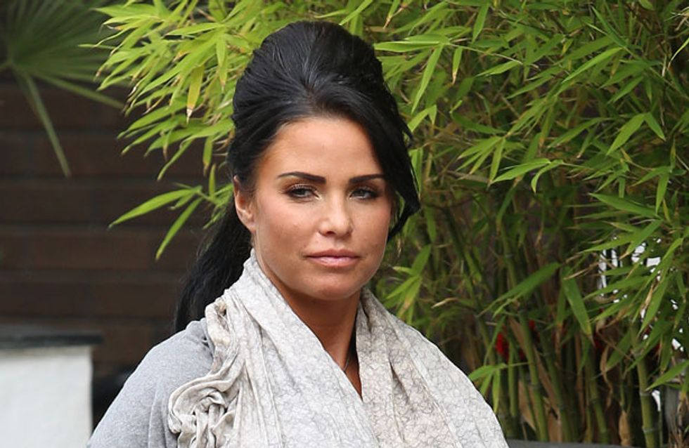 Katie Price fails to congratulate Peter Andre on the birth of his daughter