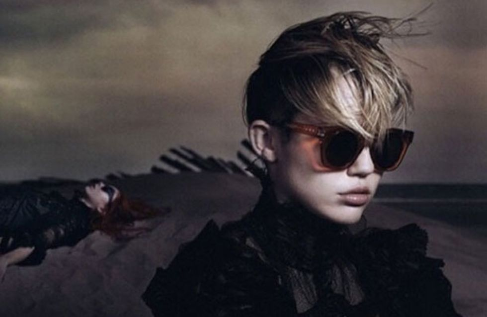 Miley Cyrus fronts sultry Marc Jacobs campaign