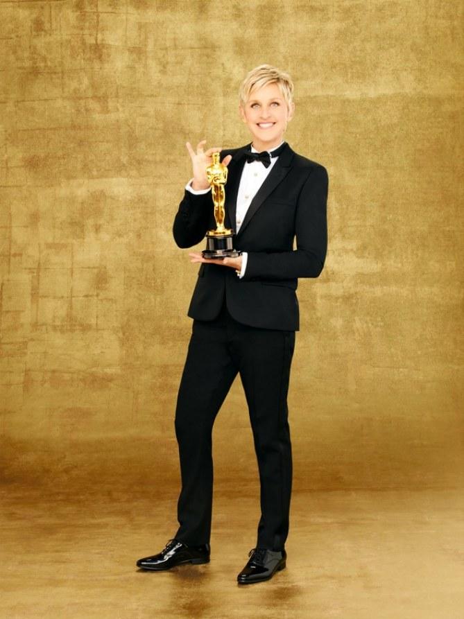 Ellen DeGeneres pour les Oscars 2014