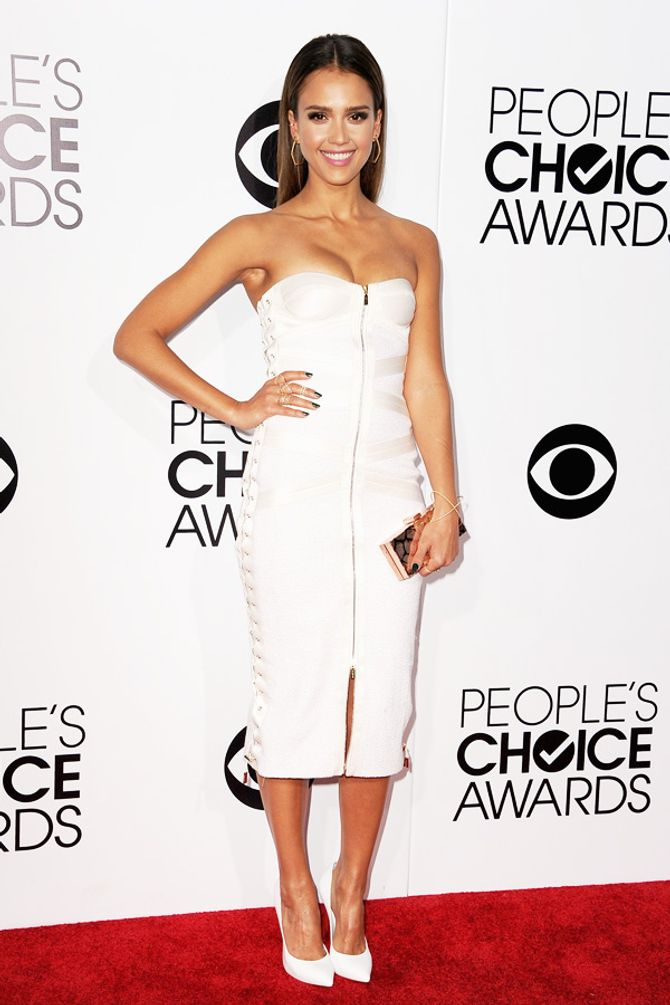 Jessica Alba  aux People's Choice Awards 2014