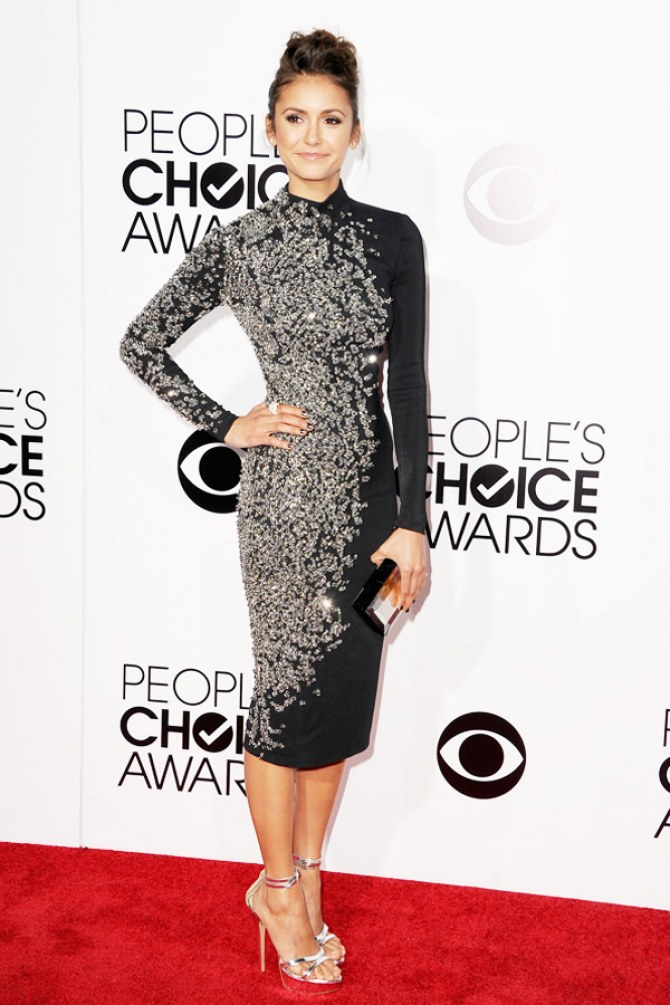 Nina Dobrev aux People's Choice Awards 2014