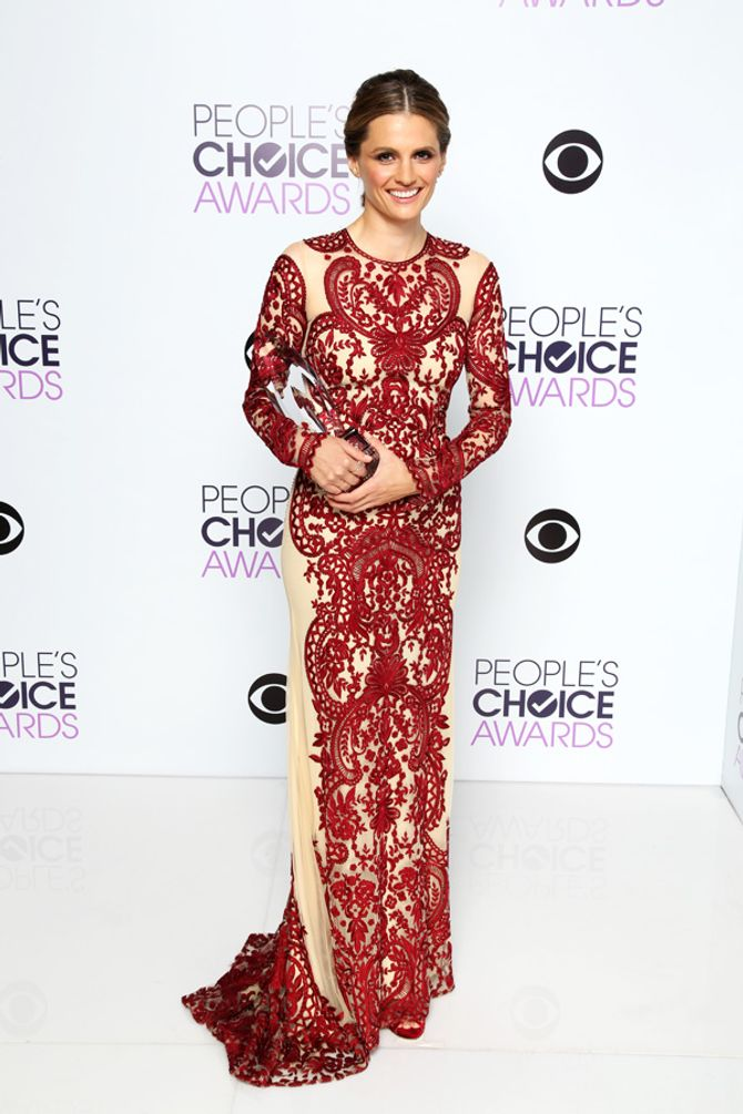 Stana Katic aux People's Choice Awards 2014