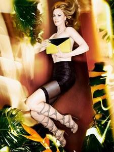 Nicole Kidman Jimmy Choo collection PE 2014