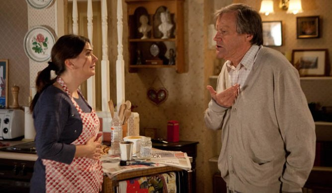 Roy begins to feel angry at Hayley