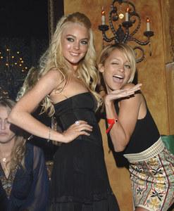 Nicole Richie et Lindsay Lohan en 2005