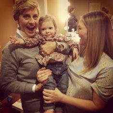 Drew Barrymore : Découvrez le visage de sa fille Olive (Photos)