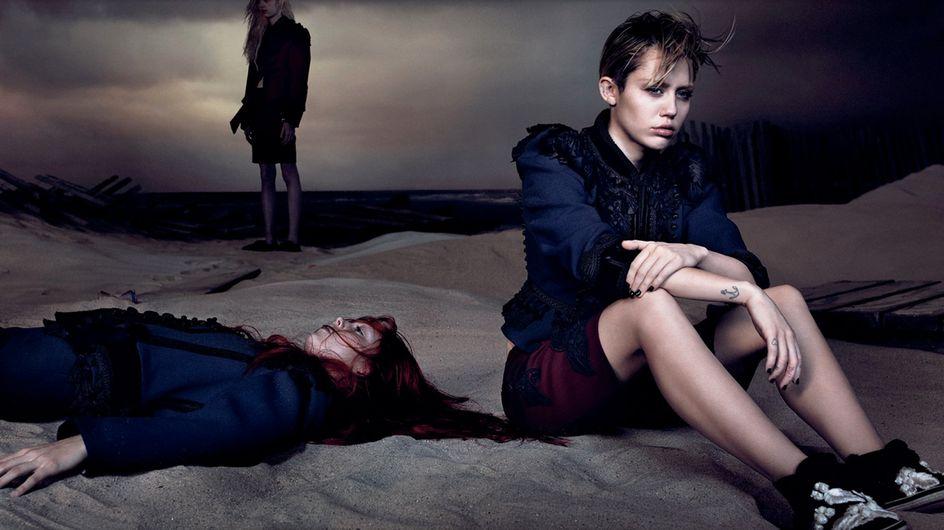 Miley Cyrus dark per Marc Jacobs