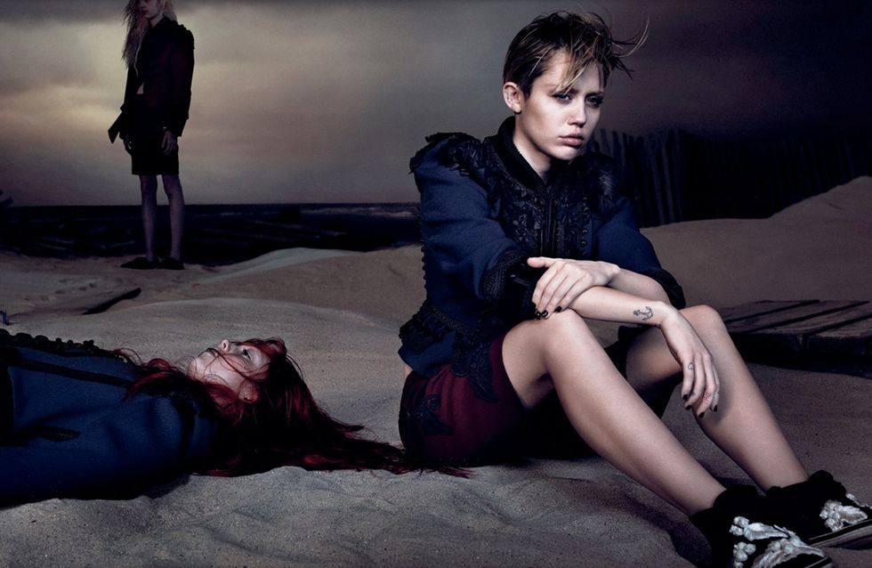 Miley Cyrus dark per Marc Jacobs