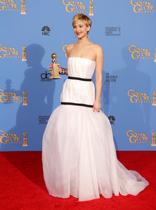 Jennifer Lawrence aux Golden Globes 2014