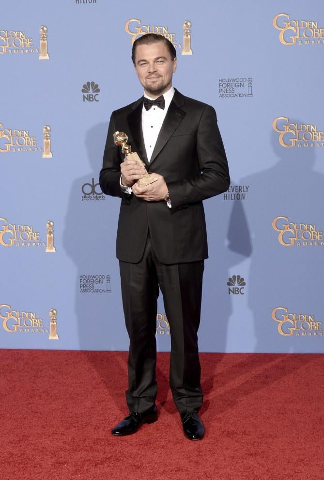 Leonardo DiCaprio aux Golden Globes 2014