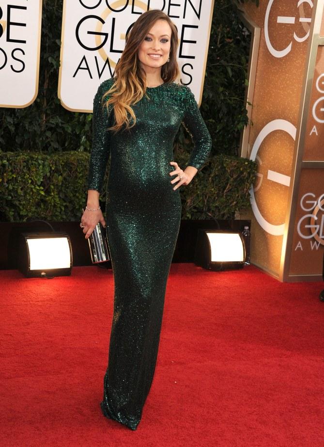 Olivia Wilde aux Golden Globes 2014